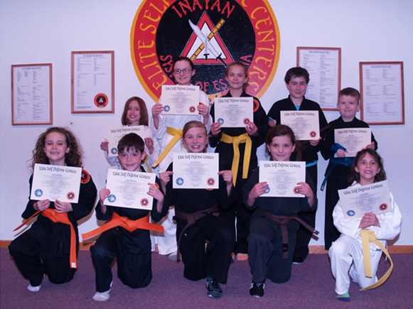 April 2016 Elite Karate Testing