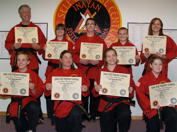 September 2014 Elite Karate Testing