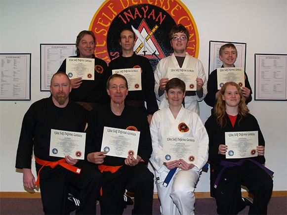 February 2015 Elite Karate Testing