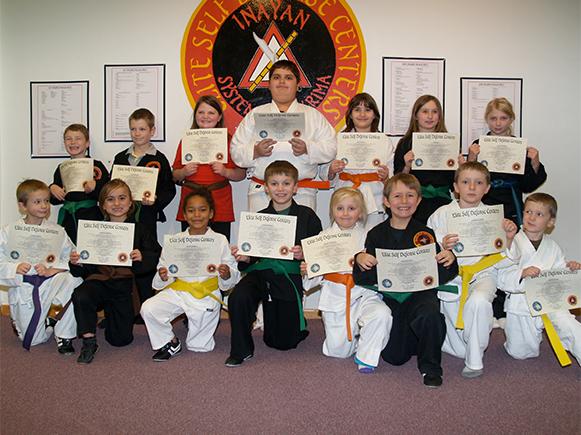 November 2014 Elite Karate Testing