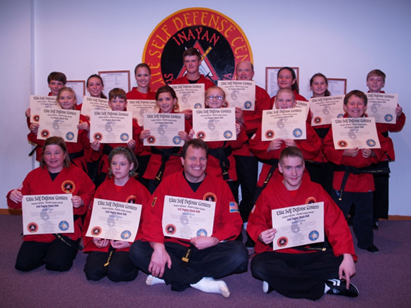 September 2016 Elite Karate Testing