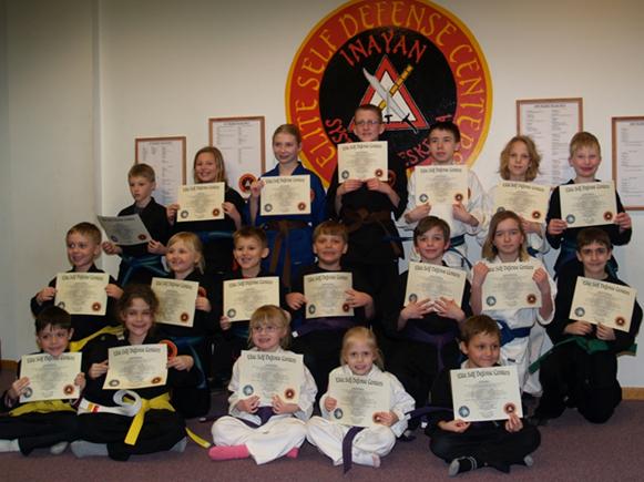 February 2016 Elite Karate Testing