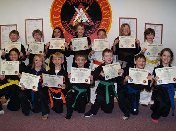 February 2017 Elite Karate Testing