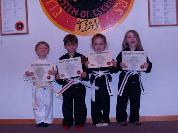 April 2016 Elite Little Ninjas Karate Testing