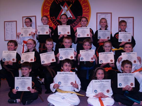 May 2016 Elite Karate Testing