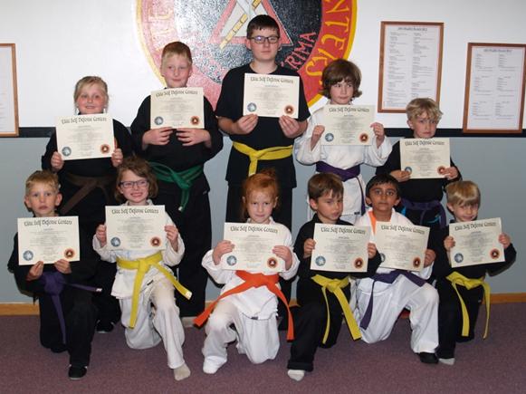 May 2017 Elite Karate Testing